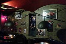 Dekorace do Harley's baru - celkový pohled
