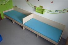Dětské pokoje-postele bez zábran