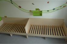 Dětské pokoje-pevné rošty