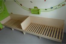 Dětské pokoje-bytelné postele