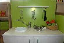 Dětský pokoj limetka-dětská kuchyňka