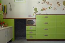 Dětský pokoj limetka-bunkr a DVD