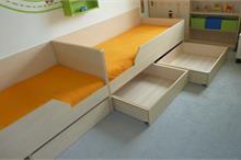 Dětský pokoj limetka-čtyři šuplíky