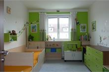 Dětský pokoj limetka-celkový pohled