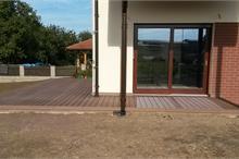 WPC terasa z boku