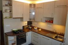 Klasická kuchyň - pohled shora