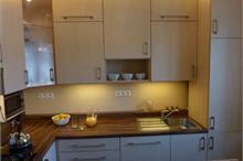 Klasická kuchyň - podsvícení luminestrami