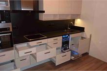 Kuchyň jasan - pohled z boku