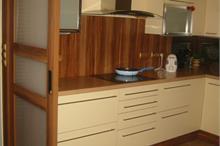 Kuchyň - šoupací dveře