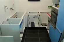 Montáž pracovní desky na IKEA kuchyň - po
