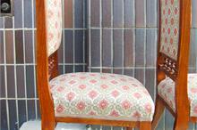 Židle - pružinové čalounění