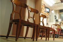 Židle biedermeier - po renovaci