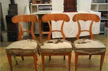 Židle biedermeier - před renovací