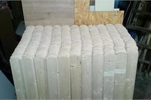Výroba plotových dílců - srovnáno