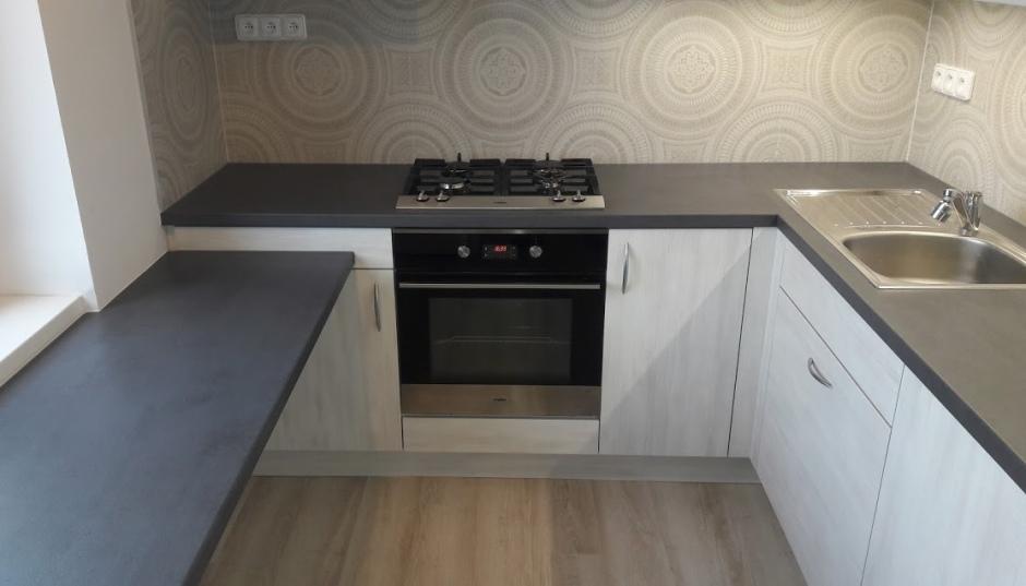 Kuchyň do úzkého prostoru