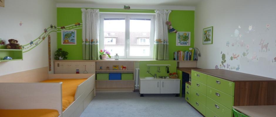Dětský pokoj limetka