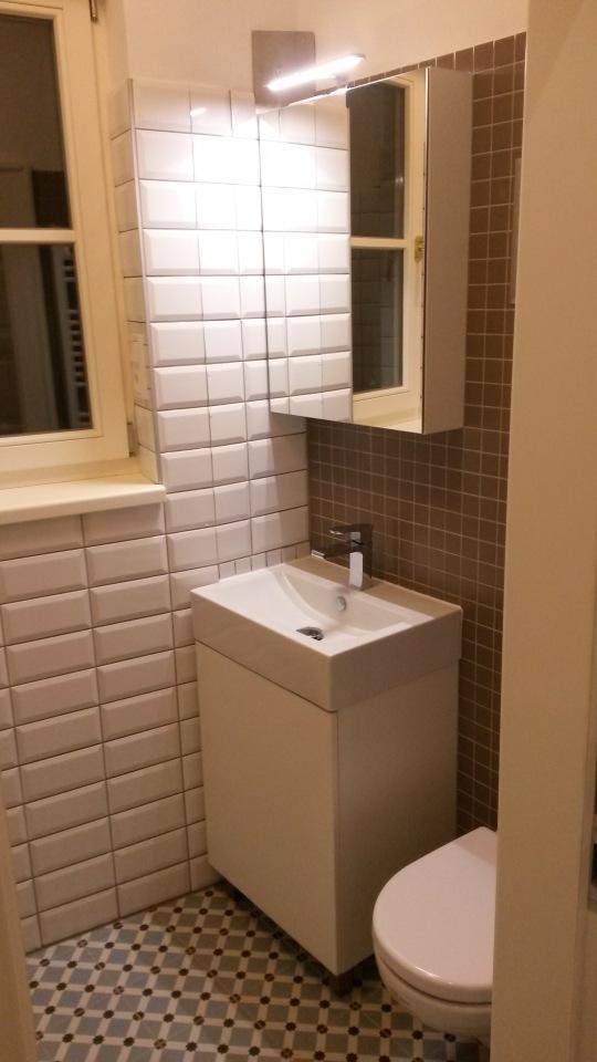 Skříňky do malé koupelny