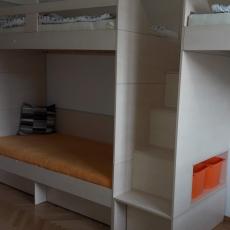 Sklápěcí manželská postel