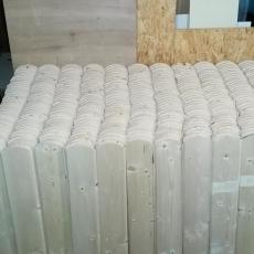 Výroba plotových dílců